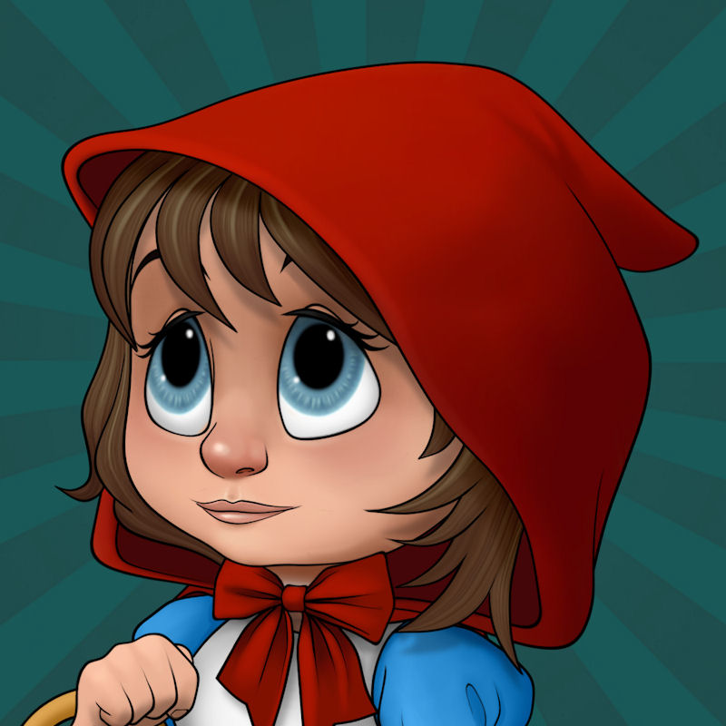 Ickle Red Riding Hood