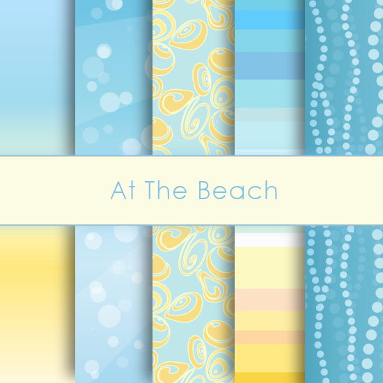 At the Beach Deco Papers