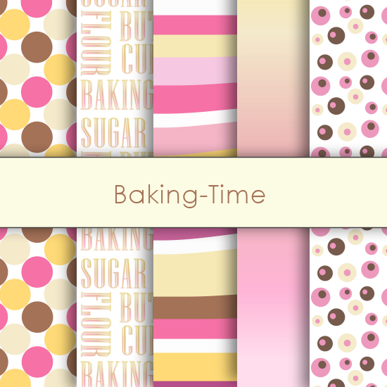 Baking Time Deco Papers