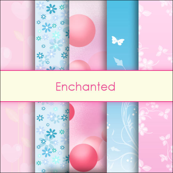 Enchanted Deco Papers