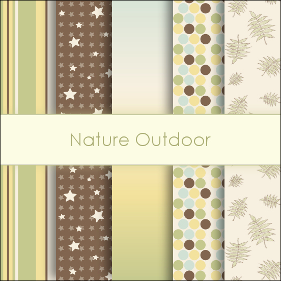 Nature Outdoor Deco Papers