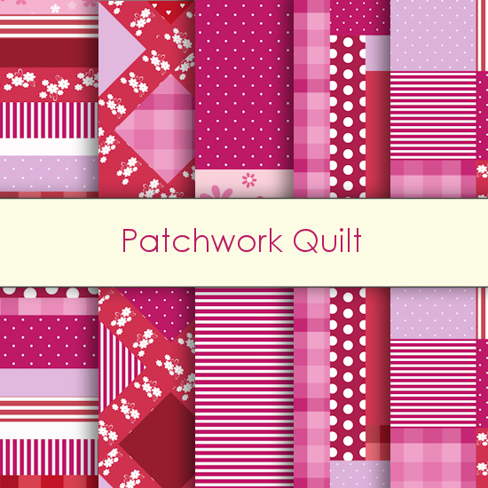 Patchwork Quilt Deco Papers
