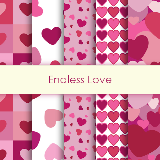 Endless Love Deco Papers
