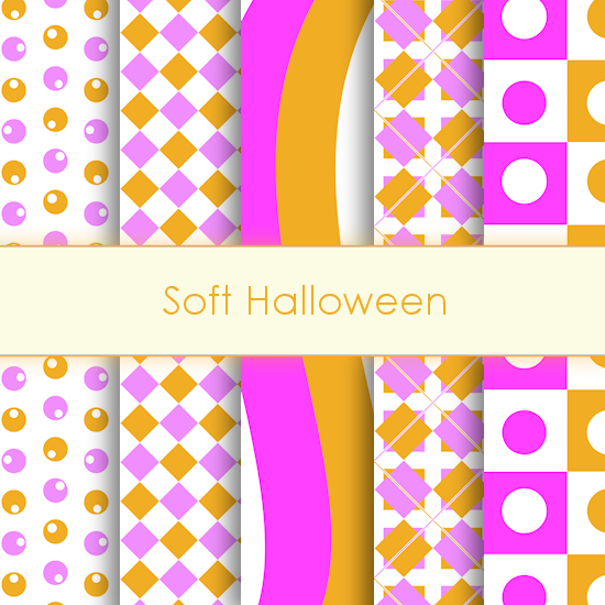 Soft Halloween Deco Papers