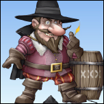 Guy Fawkes Gnome Graphic