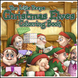 Colouring Book 3 - Christmas Elves